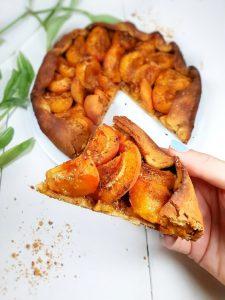 TARTE ABRICOTS (sans gluten-vegan)