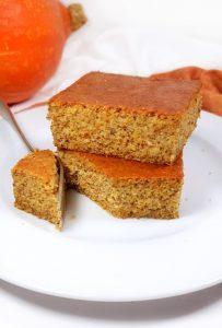 Namandier - gâteau aux amandes au potimarron - sans beurre - sans gluten