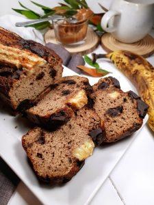 BANANA BREAD-protéiné-sans-sucre-sans lactose